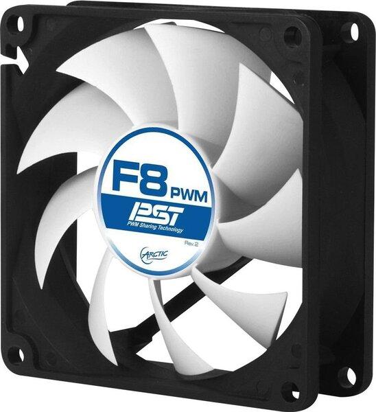 Arctic F8 PWM (AAFACO-080P0-GBA01) cena un informācija | Datora ventilatori | 220.lv