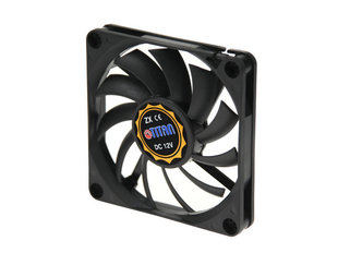 Titan Titan Fan, 70 x 70 x 11 mm, with tachometer signal, fluid bearings - TFD-7010M12Z