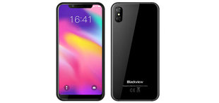 Blackview A30, 2/16 GB, Melns