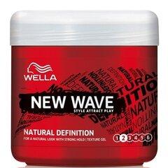 Matu želeja Wella Shockwaves Natural Definition 150 ml cena un informācija | Ieveidošanai | 220.lv