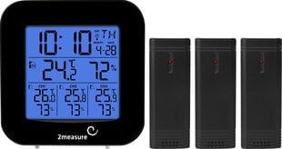 Meteoroloģiskā stacija 2measure 260509 cena un informācija | Meteostacijas, termometri | 220.lv