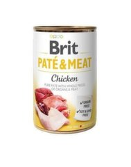 BRIT CARE konservi Chicken Pate&Meat 400 g