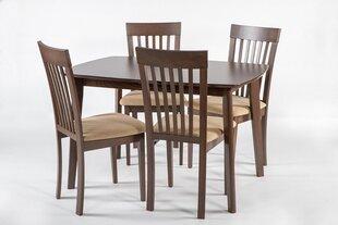 Столовый набор Bari S/Modena, темно-коричневый цена и информация | Комплекты мебели для столовой | 220.lv