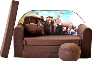 Раскладной диван Welox Maxx K8, коричневый