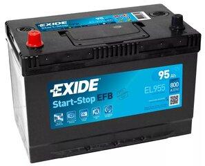 Akumulators EXIDE EL955 95 Ah 800 A EFB