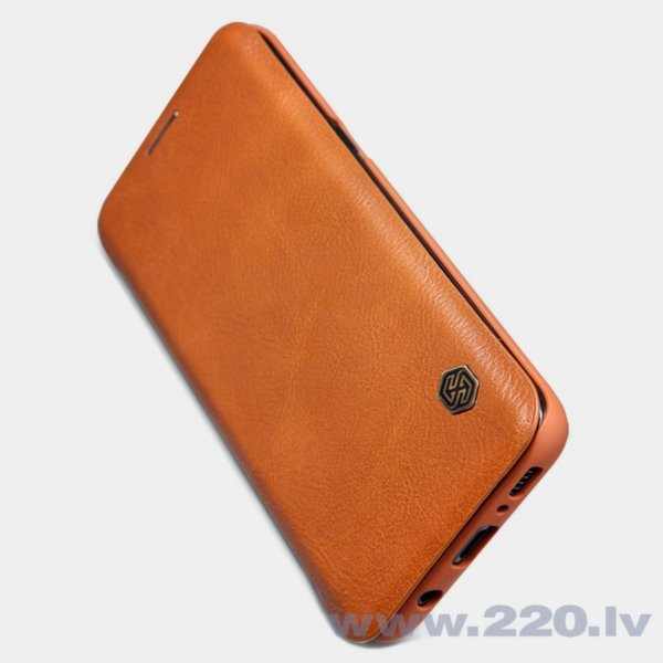 Nillkin Qin ādas maciņš telefonam Samsung Galaxy S9 G960 brūns