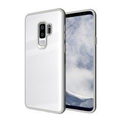 Tempered Glass maciņš telefonam Samsung Galaxy S9 Plus G965 balts