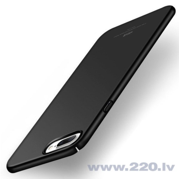 MSVII Simple vāciņš telefonam iPhone 8 Plus, melns