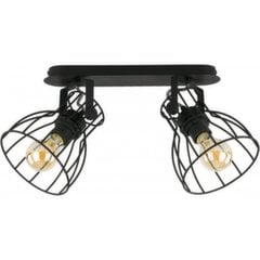 TK Lighting griestu lampa Alano Black 2