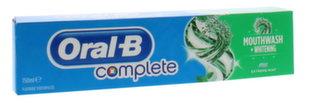 Zobu pasta Oral-B Complete Mouthwash & Whitening 150 ml