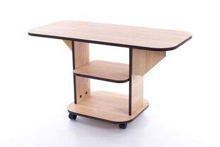 Saliekams kafijas galdiņš STZ-3, ozola / brūnā krāsā