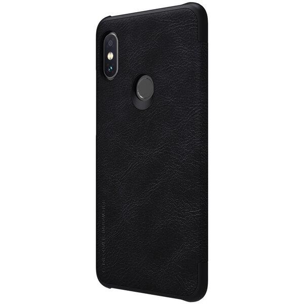 Telefona vāciņš Nillkin Qin piemērots Xiaomi Note 6 Pro, Melns atsauksme