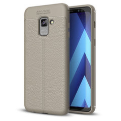 Litchi Pattern telefona vāciņšSamsung Galaxy A8 2018 A530 pelēks