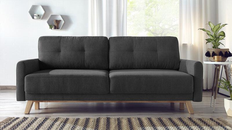 Dīvāns BoboChickBalio, tumši pelēks