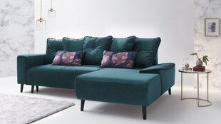 Mīksts stūra dīvāns BoboChic Hera III, zils cena un informācija | Stūra dīvāni | 220.lv