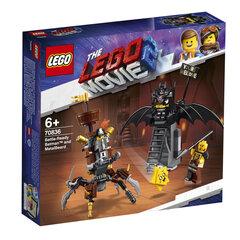 70836 LEGO® MOVIE Kaujai gatavs Betmens™ un Metālbārda