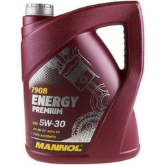 Mannol Energy Premium 5W-30 Fully Synthetic, 5L cena un informācija | Mannol Energy Premium 5W-30 Fully Synthetic, 5L | 220.lv