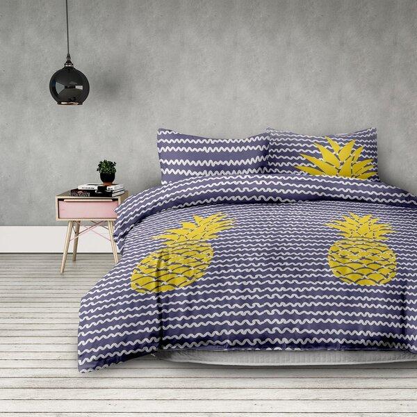 DecoKing gultas veļas komplekts AmeliaHome Pinepple, 2 daļas