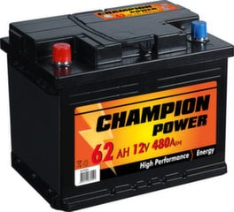 Akumulators Champion Power 62AH 480A