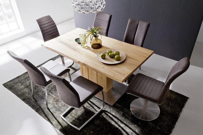 Набор из 2 стульев Flores A-4, светло-коричневый