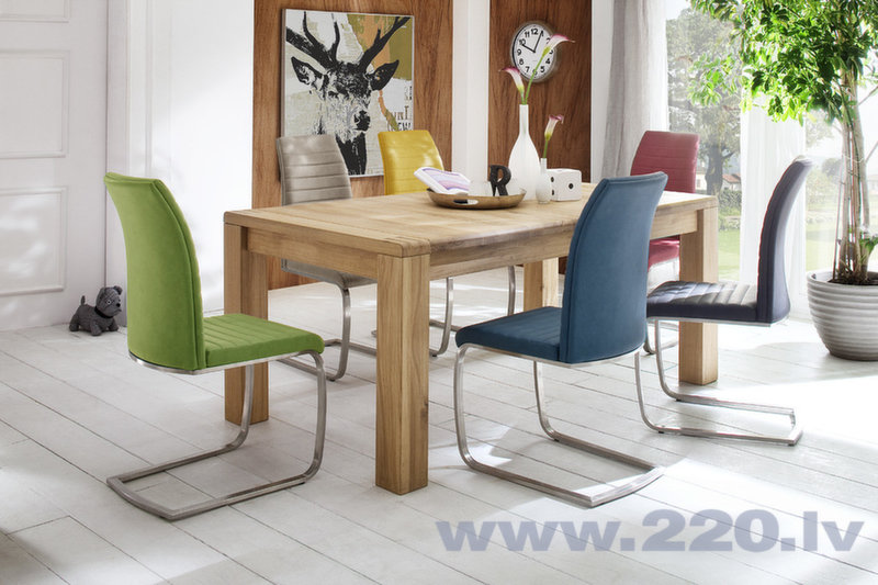 Набор из 2 стульев Flores B-3, желтый
