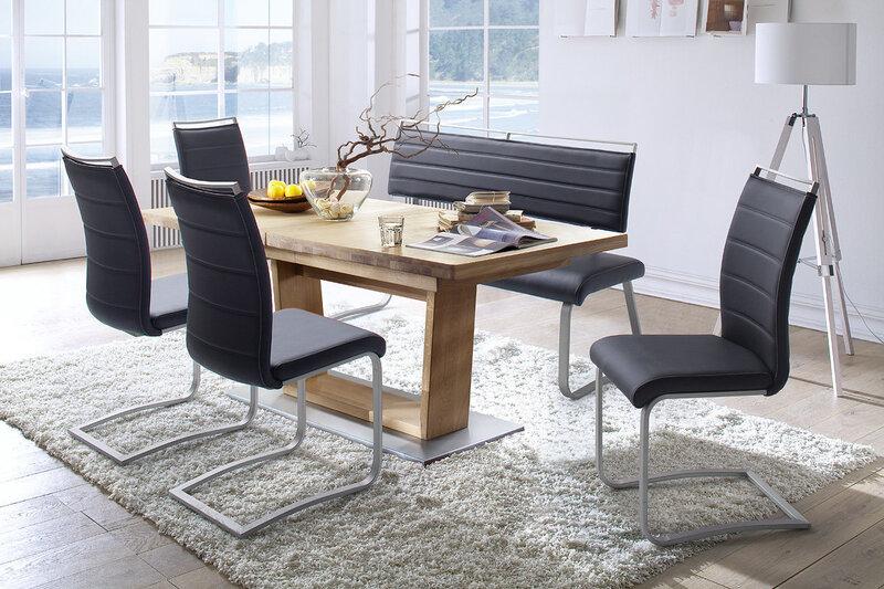 Комплект из 2 стульев Pescara, коричневый