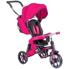 Trīsritenis YVOLUTION Strolly Bike 4L CL, rozā, 100814