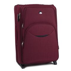 Liela izmēra koferis Wings 1708-2, tumši sarkanā krāsā cena un informācija | Liela izmēra koferis Wings 1708-2, tumši sarkanā krāsā | 220.lv