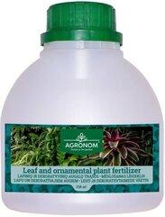 Agronom lapu un dekoratīvo augu mēslošanas līdzeklis 250 ml cena un informācija | Agronom lapu un dekoratīvo augu mēslošanas līdzeklis 250 ml | 220.lv