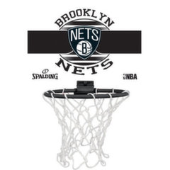Mini basketbola grozs Spalding NBA Brooklyn Nets 77-662Z
