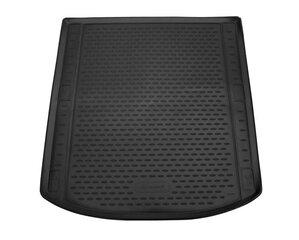 Bagāžnieka gumijas paklājs AUDI A4 (B9) 2016-> sedan, melns /N03014 cena un informācija | Bagāžnieka paklājiņi pēc auto modeļiem | 220.lv