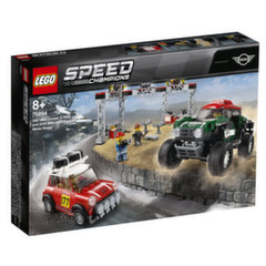 75894 LEGO® SPEED CHAMPIONS 1967 Mini Cooper S Rally и 2018 MINI John Cooper Works Buggy
