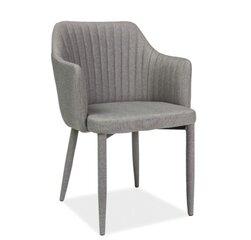 4 krēslu komplekts Welton, pelēks cena un informācija | Krēsli | 220.lv