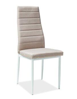 4 krēslu komplekts H-266, balts/krēmkrāsas