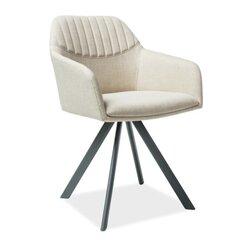 2 krēslu komplekts Milton II, krēmkrāsas cena un informācija | Virtuves un ēdamistabas krēsli | 220.lv