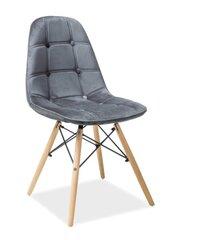 2 krēslu komplekts Axel, pelēks