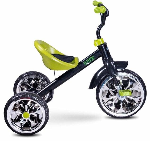 Trīsritenis Toyz York, zaļš cena