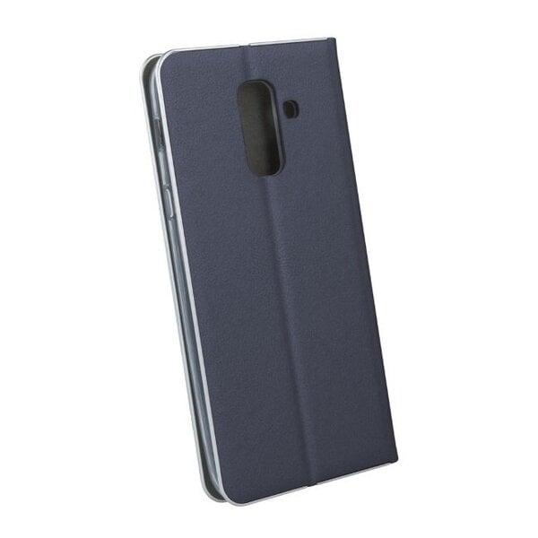 Atverams maciņš TakeMe piemērots Samsung Galaxy A6 (2018), zils