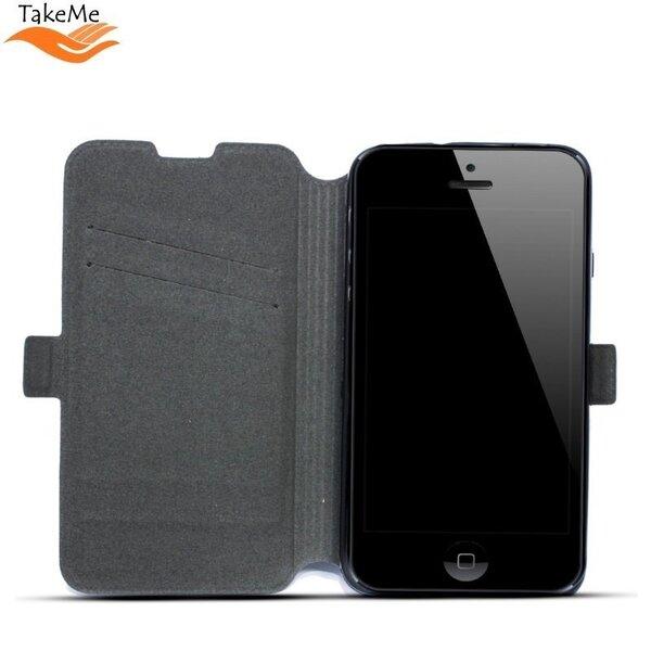 Atverams maciņš TakeMe piemērots Sony Xperia XZ2 Compact, melns