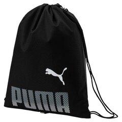 Sporta soma apģērbam Puma Plus, melna cena un informācija | Sporta somas un mugursomas | 220.lv