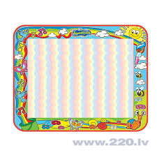 "Zīmēšanas paklājs ""Aquadoodle Super Colour Deluxe"" Tomy, T72373 cena"