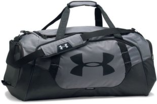 Sporta soma Under Armour Undeniable Duffle 3.0, 56 l, pelēka / melna