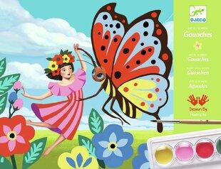 Krāsošana ar guašu - Minuscules, Djeco DJ08962 cena un informācija | Zinātniskās un attīstošās spēles, komplekti radošiem darbiem | 220.lv