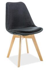 4 krēslu komplekts Dior, melns