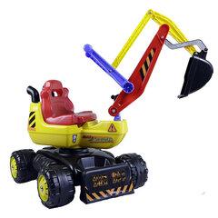 Stumjamais traktors - iekrāvējs 3toysm D1 cena un informācija | Rotaļlietas zēniem | 220.lv