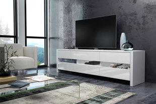 RTV galdiņš Fox, balts cena un informācija | TV galdiņi | 220.lv