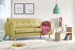 Trīsvietīgs dīvāns BoboChic Viking, dzeltens
