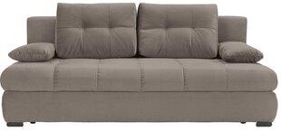 Dīvāns Viper II Lux 3DL, gaiši brūns cena un informācija | Dīvāni un krēsli | 220.lv