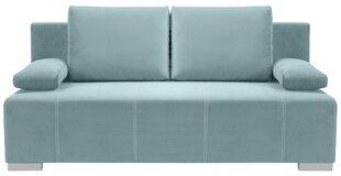 Dīvāns Street IV Lux 3DL, gaiši zils