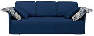 Dīvāns Clarc II Lux, zils cena un informācija | Dīvāni un krēsli | 220.lv